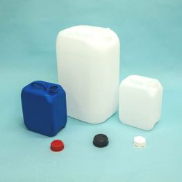 Heavyweight Plastic UN Approved Stackable Jerrycan,  with Tamper evident cap