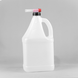 4 Litre Side Handle Plastic Economy Jerrycan