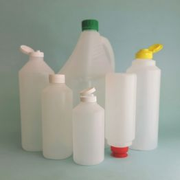 HDPE Round Natural Sauce Bottle