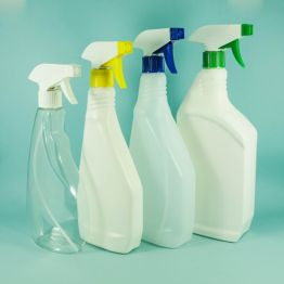 Trigger Bottles HDPE Plastic (Natural or White)