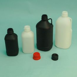 UN Approved Narrow Neck Plastic Winchester Bottle Series 310 HDPE (Natural or Black)