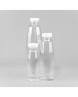 Clear NECTAR Plastic Juice and Smoothie Bottle PET