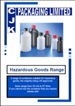 Hazardous Goods Range