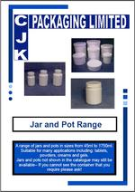 Jars and Pots Range