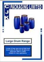 Large Drum Range